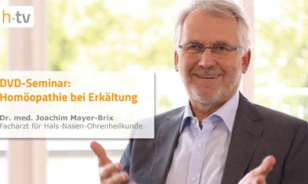 """DVD-Seminar """"Homöopathie bei Erkältung"""", Dr. Joachim Mayer-Brix – Facharzt für Hals-Nasen-Ohrenheilkunde"""