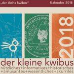 """Der """"kleine kwibus"""" Kalender 2018 ist da!"""