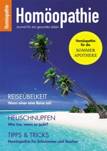 """""""Homöopathie-Journal"""" für den Sommer"""